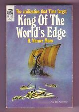 KING OF THE WORLD'S EDGE (H. Warner Munn/1st US pb/lost race)