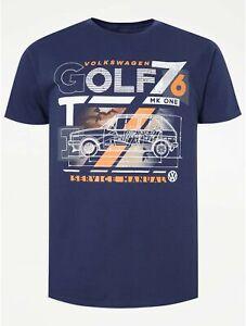 VW Golf Navy T-Shirt