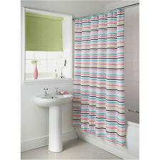 Various Colour & Design Printed Shower Curtain/Curtains 100%25 Polyester 12 Hooks