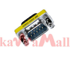 RS232 DB9 PC Male to Male Gender Changer Adapter M-M
