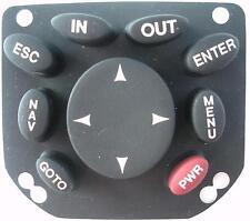 Magellan Meridian Gold Handheld GPS Replacement Keypad Buttons - BLACK - NEW