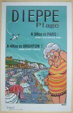 Ex-libris STERNIC Polette a Dieppe  (parodie tintin )