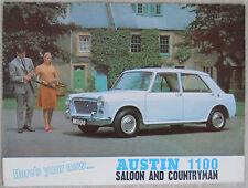 Austin 1100 - Saloon & Countryman brochure 12 page