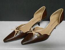 Rampage Women's Brown & Tan Dorsa cut Heels Shoes Size 8.5m