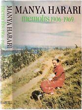 Manya Harari Memoiren 1906-1969 1972 PB harvil Presse