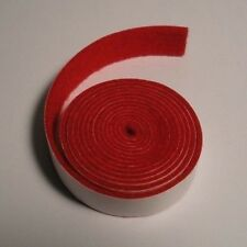 Piano Self-Adhesive Nameboard Felt - Scarlet - 25' roll