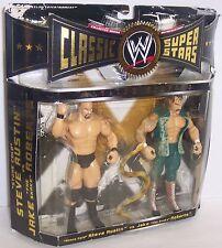 2005 Classic Superstars Austin vs Jake Roberts Action Figure Set WWF WWE [1448}