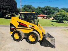 CAT 236B SKID STEER RUBBER WHEEL LOADER BOB CAT DIESEL OROPS TRACTOR PILOT CONTR