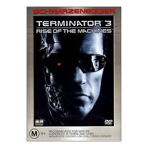 Terminator 3: Rise of the Machines DVD New Region 4 Aust - Arnold Schwarzenegger