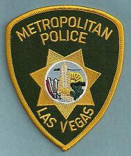 METROPOLITAN LAS VEGAS NEVADA POLICE SHOULDER PATCH