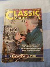 classic mechanics(5)T120 service /Velocette 500 /Ducati /HD Evo/TRIBSA/VILLIERS