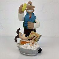 Vintage 1989 Collectable Wallace & Gromit Decorative Bubble Bath Bottle UNUSED