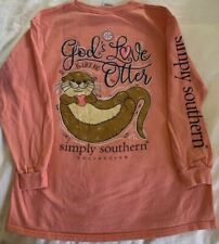 Simply Southern Youth Md God's Love Is Like No Otter Long Sleeve T-shirt F3