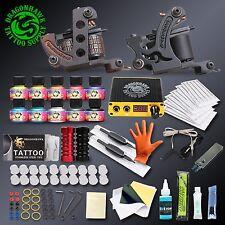 Professional Complete Tattoo Kit Set 2 Guns Immortal Color Inks Tattoo Machine