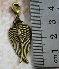 Charms y pulseras de charms de bisutería de bronce