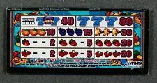 Williams WMS BB1 Bluebird Slot Machine Belly Glass for JACKPOT PARTY