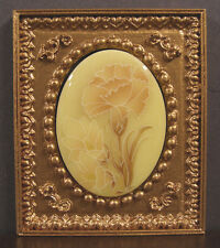 =Sale= Framed Vintage Cameo Picture ~ Dollhouse Mini~ 1:12 scale ~ Closeout