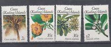 Cocos Islands 1989 Fiori (II) 195-98 MNH