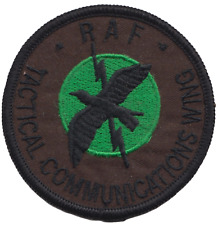 Tactical Communications Wing TCW Royal Air Force RAF Embroidered Patch