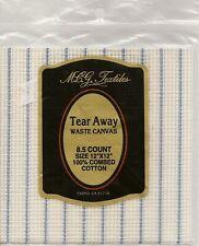 MCG Textiles TEAR AWAY WASTE CANVAS 8.5 Count - 1 pc 12