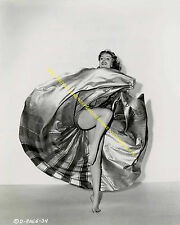 RITA HAYWORTH LEGGY DANCING UPSKIRT BAREFOOT TOES 8 X 10 PHOTO A-RH8
