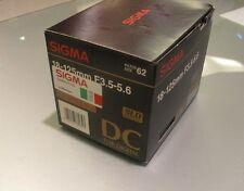 SIGMA 18 - 125 MM F 3.5 5.6 SLD DC FOR SONY MINOLTA AF D