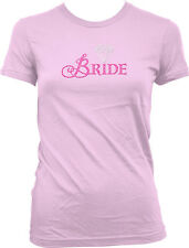 Bride Wedding Bridal Party Diamond Ring Bachelorette Married Wed Juniors T-Shirt