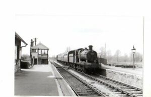 Rail Photo GWR 060 2204 West Pennard station Somerset LMS S&DJR Glastonbury pyll