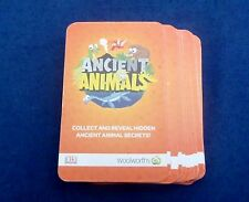 Full Set of Woolworths Ancient Animal Cards - 1-81 - NEW