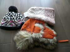 New Latest 3 different style hat and beanies,Fjall Raven, Oneil,Anthropologie