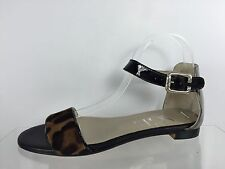 AGL Womens Multi Color Leather Sandals 38.5