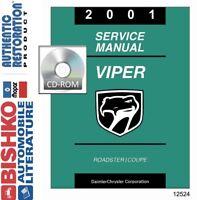 2014 DODGE VIPER SERVICE INFORMATION Repair Shop Manual USB Thumb Drive