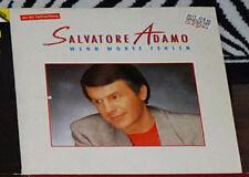 Salvatore Adamo - Wenn Worte fehlen, LP Vinyl, EMI 790671, Made in Germany 1988