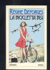 Régine Deforges, La bicicletta blu , Rizzoli 1985 copertina G.Crepax  R