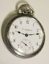 17j Open Face Railroad A Antique Hamilton 972 16s Pocket Watch