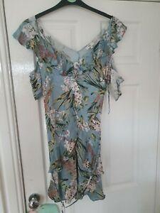 Women's River Island Floral Print Dress - 12 Petite