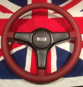 Have Your Rover Mini Cooper / Mini 30 Steering Wheel Re-trimmed