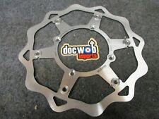 Kawasaki KX125 KX250 KX500 1989-2002 Braking 260mm wave front brake disc KX3088