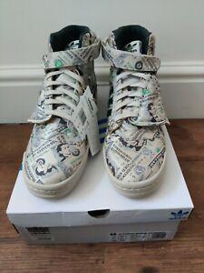 Adidas Jeremy Scott Forum Wings 1.0 Money Shoes UK Size 10.5