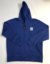 G-Star Jacket Blue Doax Hooded Zip Thru SW L/S Sz. Xl NWT 100% Authentic!!