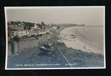 Devon BUDLEIGH SALTERTON Cliff Walk c1950/60s RP PPC by Judges