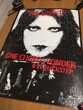 Signed Adverts 'One Chord Wonders' Punk Poster Autographed By TV Smith