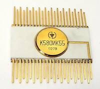 K580IK55 - Extremely RARE USSR Soviet Russian Gold Clone Intel 8080 support 8255
