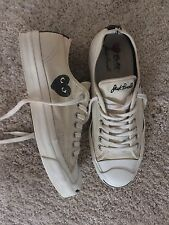 Comme Des Garçons Play X Converse Jack Purcell Uk 7 Euro 41 RARE