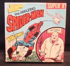 """The Amazing Spider-Man In """"KINGPINNED""""! By Ken Films #318 Super 8mm Film! SUPER!"""