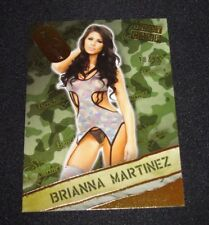 2013 Benchwarmer Hobby BRIANNA MARTINEZ Boot Camp #25 Gold Foil/99 Tropic Beauty