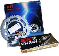 PBR / EK CHAIN & SPROCKETS KIT 520 PITCH FOR KAWASAKI KFX 450 R KSF B 2008 >