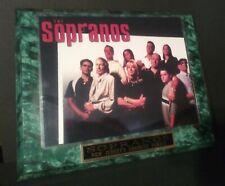 Sopranos-Unique Commemorative Plaque 13�x 10� -2007 See All Descrip./Pics.