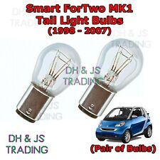 Smart ForTwo Tail Light Bulbs Pair of Rear Tail Light Bulb Lights MK1 (98-07)