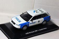 1:43 AUDI A6 Avant 1994 Swedish Police